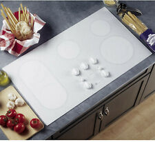 """New listing Ge Profile Series Model Jp960T0C1Ww 36"""" Electric Cooktop White - Nice !"""