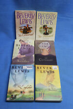 BEVERLY LEWIS Lot of 6 AMISH Romance Paperback Books: Different Series