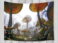 Wall Hanging Tapestry Mushroom Forest Tapestry Room Bedroom Dorm Wall Decoration