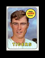 1969 Topps Baseball #373 Fred Lasher (Tigers) NM