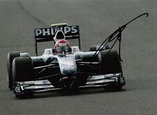 Kazuki Nakajima mano firmado AT&T Williams F1 Foto 7x5 13.