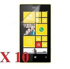 10 X Ultra Trasparente Protezioni Dello Schermo LCD Cover Pellicola Per Nokia Lumia 520 & Cloth