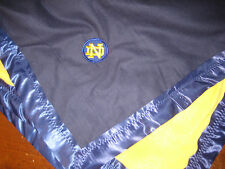 Baby Blanket Notre Dame patch
