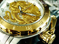 Invicta Men's 52mm Coalition Forces Dragon Automatic Gold & Silver Tone SS Watch