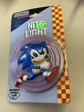 Rare VINTAGE 1994 Sega SONIC THE HEDGEHOG Night Lite NITE LIGHT Works/NIP Moc