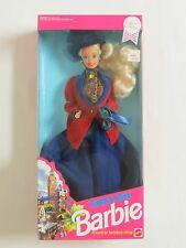 1991 English Barbie #4973 Dolls Of The Word Collection NRFB England Horseback