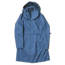 Norwegian Rain SINGLE BREASTED Stainless collar hooded coat 426-152513 M blue