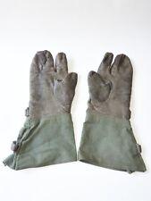 alte Motorradhandschuhe Kradmelder 2.WK Wehrmacht gestempelt original !! Größe 9