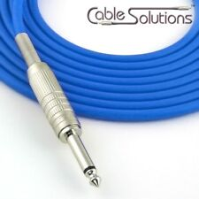 Canare GS-6 Low Noise OFC Guitar/Instrument Cable, Hand-Crafted, 14m, Blue