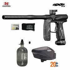 Maddog Empire Axe 2.0 Hpa Compressed Air Paintball Gun Package C Dust Black