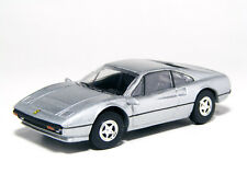 KYOSHO 1:64 Scale Ferrari 308 GTB Silver Diecast Miniature Car Collection 2