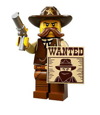 Lego Sheriff - SPARE PARTS - Hat, gun, wanted poster, head, body, legs 99p each