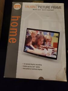 Set of 2 Talking Picture Frames Motion Activated