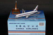 China Airlines Boeing 767-200 Reg: B-1838 JC Wings 1:200 Diecast Models XX2745