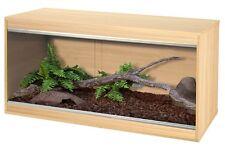 Vivexotic Repti Home - Wooden Vivarium - Snake Lizard Reptile Housing Habitat