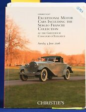 Christie's Auction Catalog Automobile June 2006 the Greenwich Franchi Collection