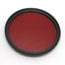 49mm Full Color Lens Filter For camera lens Red Green Purple Orange Yellow Blue