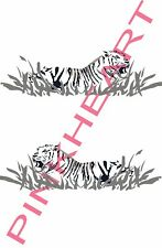 2- side Fleetwood prowler RV sticker decal graphics trailer camper rv tiger