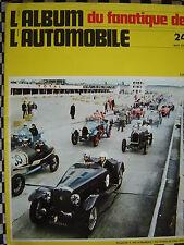 rare FANATIQUE AUTO n°24 DARMONT / VOISIN RECORDS / TRACTION CABRIOLET /CORD L29