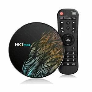SMART TV BOX ANDROID 9.0 IPTV 4K FULL HD 1080 4GB 64GB ROM DECODER WIFI HK1 MAX