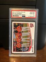 2013 Topps Update Bryce Harper SP Variation Baseball Card #US180 PSA 10 Gem