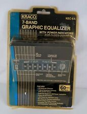 NOS KRACO KEC-6A 7 Band Graphic Equalizer See Pictures & Details