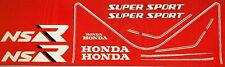 HONDA NSR125R DECAL SET 1989