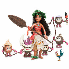 Disney Exclusive Designer Collection Moana & Heihei Folktale Series Doll Set