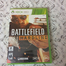 XBOX 360 Battlefield Hardline video game NEW factory sealed