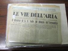 """REGIA AERONAUTICA 7 NUMERI GIORNALE """"LE VIE DELL'ARIA""""  1934  (31)"""