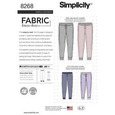 Simplicity SEWING PATTERN 8268 Adults,Teens & Childs Jogging Bottoms/Joggers