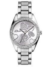 s.Oliver Uhr Damenuhr Edelstahl Silber SO-2857-MQ