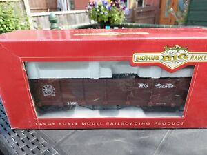 LGB (Bachmann Big Haulers) G gauge wagons