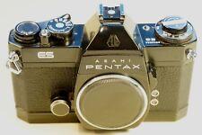 M42 ASAHI PENTAX ES black, Belichtungsmesser und Funktion topp, mit Beule