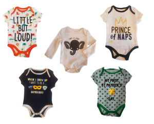 Funny Baby Grow Bodysuit Playsuit Outfit Cool Cute Fun Babygrow Cotton Clothing