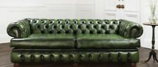 Chesterfield Ecksofa Couch Polster Garnitur Sofa Ecke Ledersofa Textil 161013-20