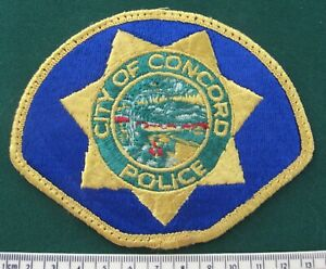 OBSOLETE City of Concordo Police patch