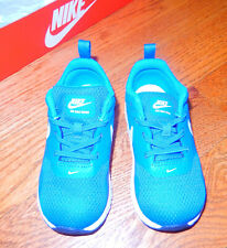 Baby Toddler Nike Training/Running Blue White Shoes Size 8C NEW Condition