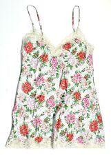 Victorias Secret S Vintage Gold Label 90s Satin Nightie Slip Lingerie Floral