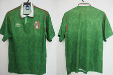 1993-1994 Mexico FEMEXFUT Soccer Football Jersey Shirt Camiseta Home Umbro L