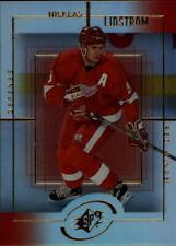 1999-00 SPx Red Wings Hockey Card #58 Nicklas Lidstrom