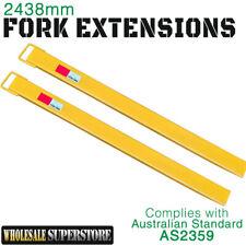 Forklift Fork Extensions Slippers 2438mm