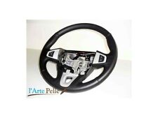 Steering Cover Renault Megane Genuine Black Leather