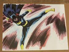 Steve Rude Batgirl Original Art Commission DC Comics Batman