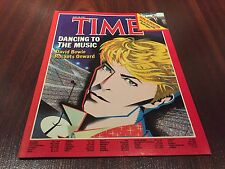david bowie time magazine Dancing to the music  no label rare