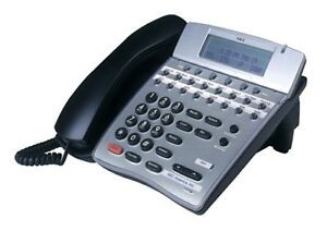 Lot 3 NEC Dterm 80 Telephones DTH-16D-2(BK)TEL Refurb GOOD DISPLAY Year Warranty