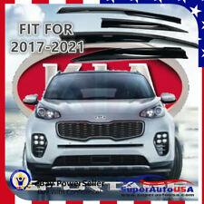Fit For Kia Sportage 2017-2021 Jdm Window Visor Sun Rain Vent Guards Deflector (Fits: Kia Sportage)