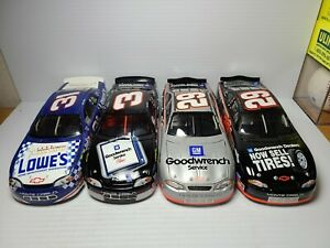 Lot of 4 Richard Childress Racing 1:24 Scale Die-Cast Action *NO BOXES*