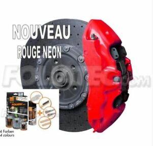 Peinture etrier Rouge NEON+Kit nett Foliatec LAMBORGHINI DIABLO