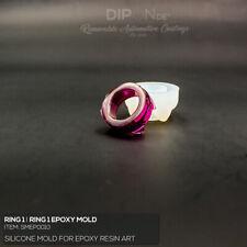 Epoxidharz Silikonform RING Gußform Basteln Epoxy Resin Silicone Mold Art Deko